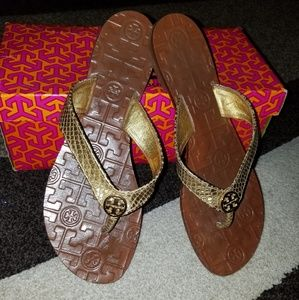 Tory Burch Thora Snake Sandals